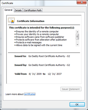 Combining Root and Intermediate Certificates – VidyoCloud