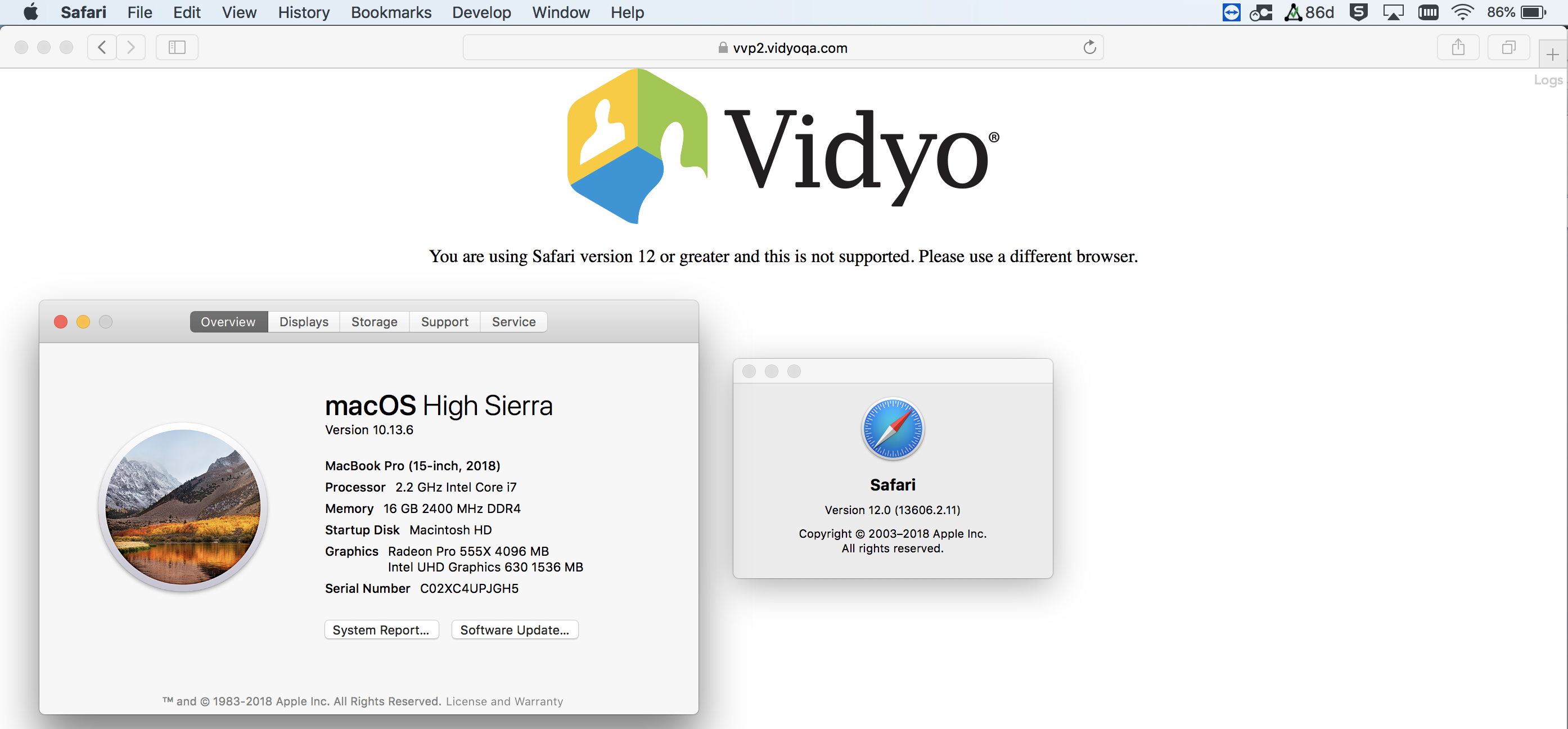 VidyoWeb: About Version 3 2 26 – VidyoCloud Support